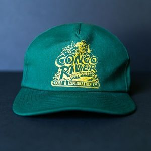 Vintage Congo River Mini Golf Snapback Hat